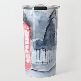 Phone Box in Oxford, MS Travel Mug
