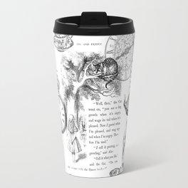 Alice in Wonderland - Pages Travel Mug