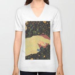 "Egon Schiele ""Daneae"" Unisex V-Ausschnitt"