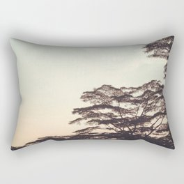 the faint sunset Rectangular Pillow