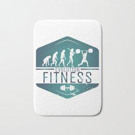 Evolution Fitness   Workout Training Muscles Bath Mat