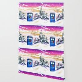 Tardis Frozen Wallpaper