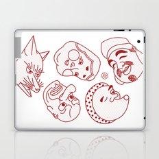Japanese Masks Laptop & iPad Skin