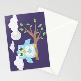 Nighttime Owl Stationery Cards