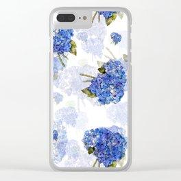 Cape Cod Hydrangea Nosegays Clear iPhone Case