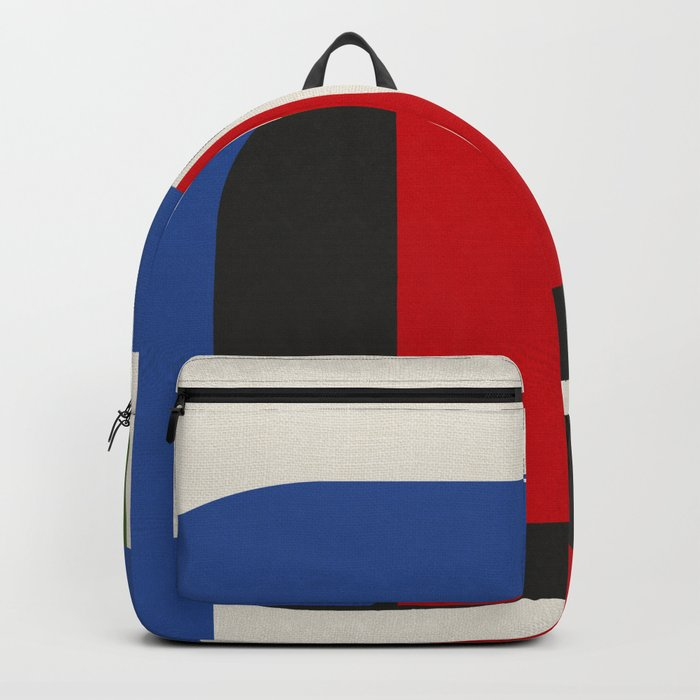 TAKE ME OUT (abstract geometric) Backpack