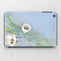 friendship iPad Cases featuring Friendship by SUNLIGHT STUDIOS  Monika Strigel