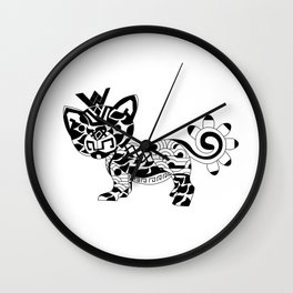 Jaguar Ecopet Wall Clock