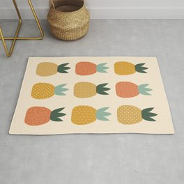 Pineapple Queens Rug
