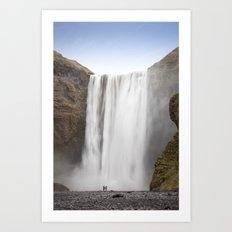Skógafoss Waterfall Art Print