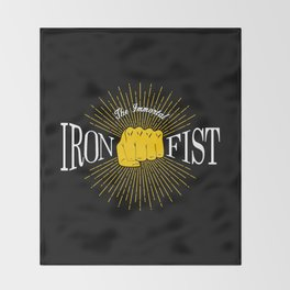 The Immortal Iron Fist Vintage Style Throw Blanket
