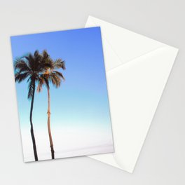Florida Palm Trees and Blue Sky Stationery Cards