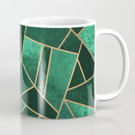Emerald and Copper Coffee Mug
