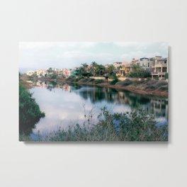 Balona Canal Metal Print