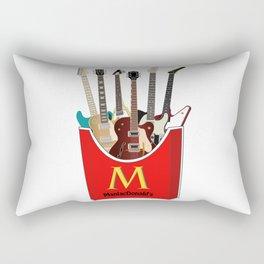 Maniac Donald's guitar potato Rectangular Pillow