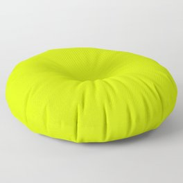 Bright green lime neon color Floor Pillow