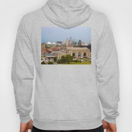Union Station Kansas City Tilt Shift Color Photo Hoody