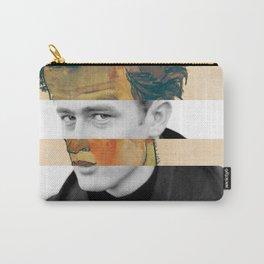 Egon Schiele's Self Portrait in a Striped Shirt & James D. Carry-All Pouch