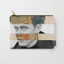 Egon Schiele's Self Portrait in a Striped Shirt & James D. Carry-All Pouch