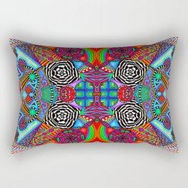 Red Universe Rectangular Pillow