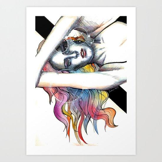 Flighty Thoughts Art Print