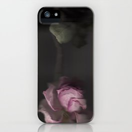 Rose Scan iPhone Case