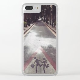 Come with Me... Clear iPhone Case