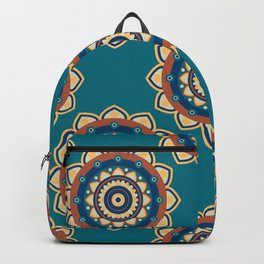 Who's the Mandala Seamless Pattern Backpack
