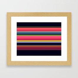 Mark the Birthdate Framed Art Print