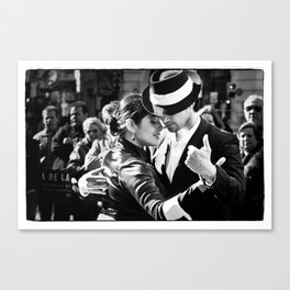 Tango Couple  Canvas Print