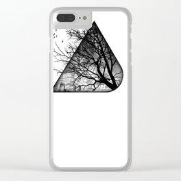 dogwood Clear iPhone Case