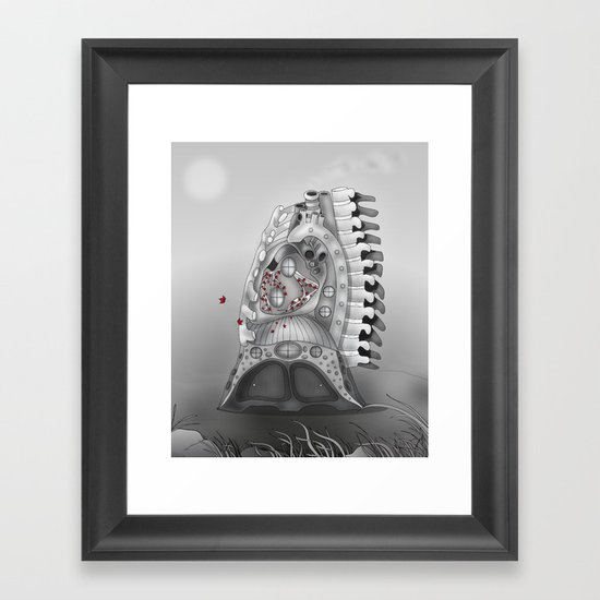 Once Upon a Time in ... Framed Art Print