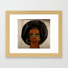 Foxxy Framed Art Print