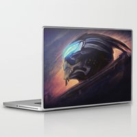 garrus Laptop & iPad Skins featuring The Art of Calibration by Sempaiko