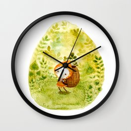 Microcosm: Little One Wall Clock