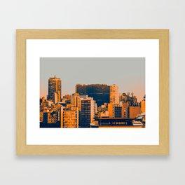 Sao Paulo Skyline II Framed Art Print