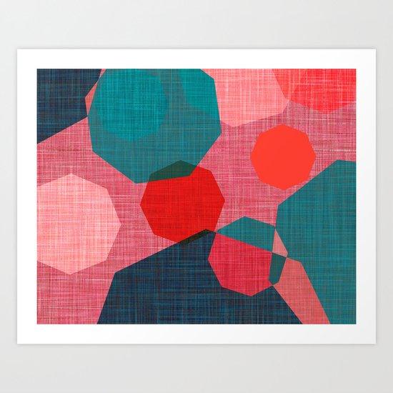 UMBRELLAS 2 Art Print
