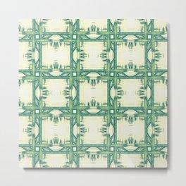 Seamless thorny pattern Metal Print