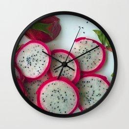 Dragonfruit Wall Clock