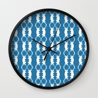 games Wall Clocks featuring Reindeer Games by Bunhugger Design