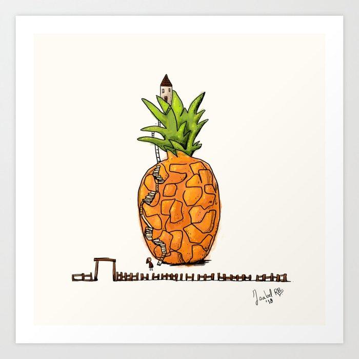 My Pineapple home Art Print