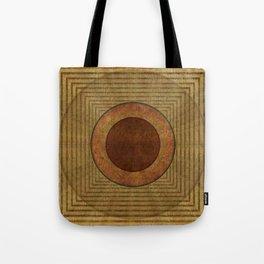 """Golden Circle Japanese Vintage"" Tote Bag"