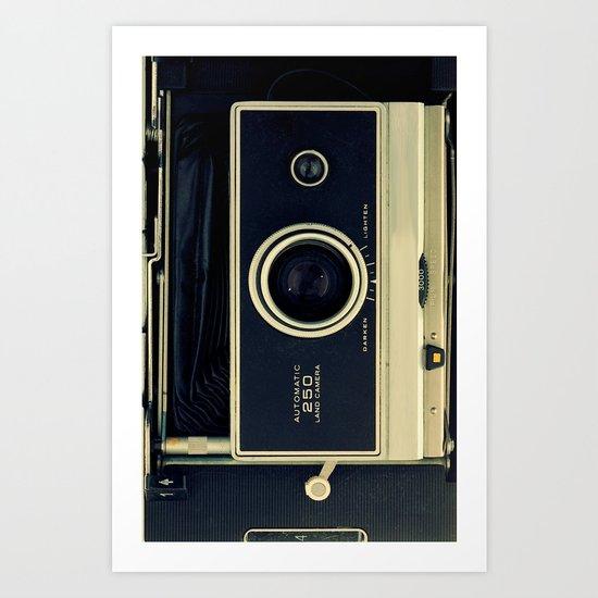 Old Polaroid iPhone Case Art Print