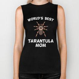 World's Best Tarantula Mom Biker Tank