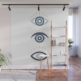 3 eyes on you Wall Mural
