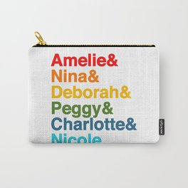 Female Djs  Queens. Carry-All Pouch
