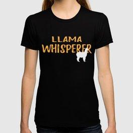 Llama Whisperer Graphic T Shirt T-shirt