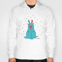 snowman Hoodies featuring snowman by PINT GRAPHICS