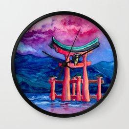 Tōri-iru Wall Clock