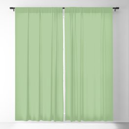 Nile Green | Pantone Fashion Color Spring : Summer 2018 | London | Solid Color | Blackout Curtain